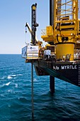 Chicxulub Crater research drilling