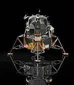 Apollo Lunar Module,illustration