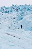 Vatnajokull ice cap,Iceland