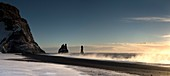 Reynisdrangar sea stacks,Iceland