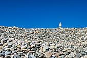 Cairn,Stonewall Beach,USA