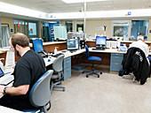 Emergency department nurses' station