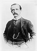 J. M. Barrie,Scottish novelist