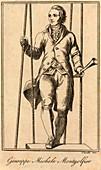 Joseph Montgolfier,French balloonist