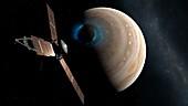 Juno and Jupiter's Aurora