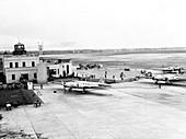 Cleveland Municipal Airport,1937