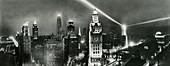 Chicago at night,1932