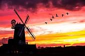 Windmill,Cley Next the Sea,Norfolk,UK