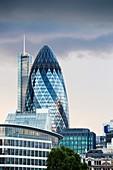 Swiss Re Tower,London,UK