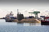 Artful Astute class nuclear submarine