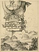 Airship medical cure,1880s