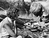 Louis and Mary Leakey,palaeontologists