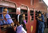 Mumbai Train Station