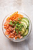 Poke - Hawaiian salmon salad