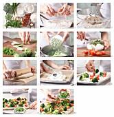 How to prepare a pizza primavera