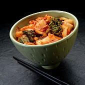 Kimchi in a bowl (Korea)