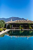 The Finca Cortesin hotel in Casares, Andalusia, Spain