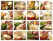 Vegetarische Kohlrouladen zubereiten