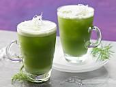 Fenchel-Feldsalat-Cocktail mit Meerrettich