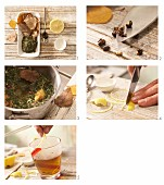 How to prepare nettle and birch leaf tea