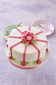 A rose celebration cake