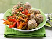 Minced meatballs with paprika