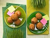 Geflügel-Bulgur-Bällchen mit Kreuzkümmel