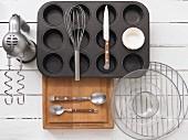 Kitchen utensils for muffins