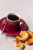 Palmiers and coffee