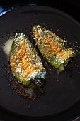 Chili Relleno (chilli peppers stuffed with cheese, Chile)