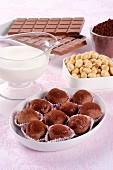 Tartufi alle Nocciole (Italian hazelnut truffles)