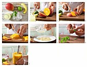 How to make an exotic smoothie