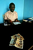 Immigration official,Bunia,Congo