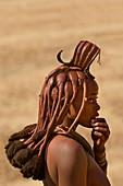 Himba woman,Damaraland,Namibia