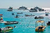 Tourist vessels,San Cristobal Galapagos
