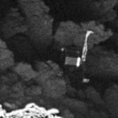 Philae's landing place
