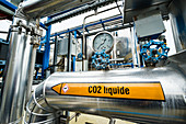CO2 cold capture facility