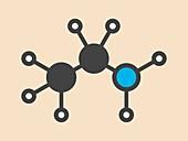 Ethylamine organic base molecule