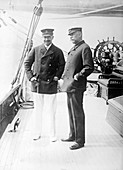 German Kaiser and Prince of Monaco,1913