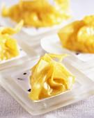 Stuffed pasta parcels