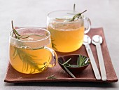 Rosemary and orange tea