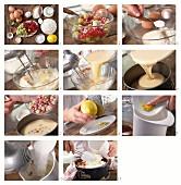 Beeren-Baiserkuchen mit Johannisbeeren und Stachelbeeren zubereiten