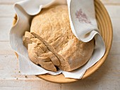 French country bread made with whole wheat flour