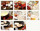How to make buttermilk and wholegrain pancakes with cottage cheese and berries