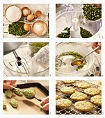 How to prepare pistachios and coconut macaroons with Amaretto