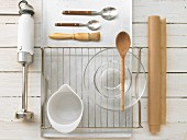 Kitchen utensils for baking muffins