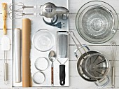 Kitchen utensils for making a cream cheese cake