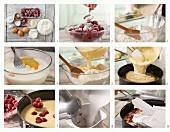 Kirsch-Baiser-Torte zubereiten