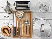 Kitchen utensils for tortellini