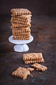 Buckwheat and cheese crackers